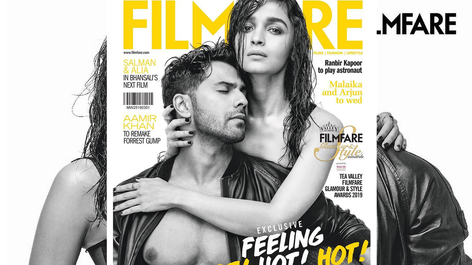 Alia Bhatt and Varun Dhawan sizzle on Filmfare cover page