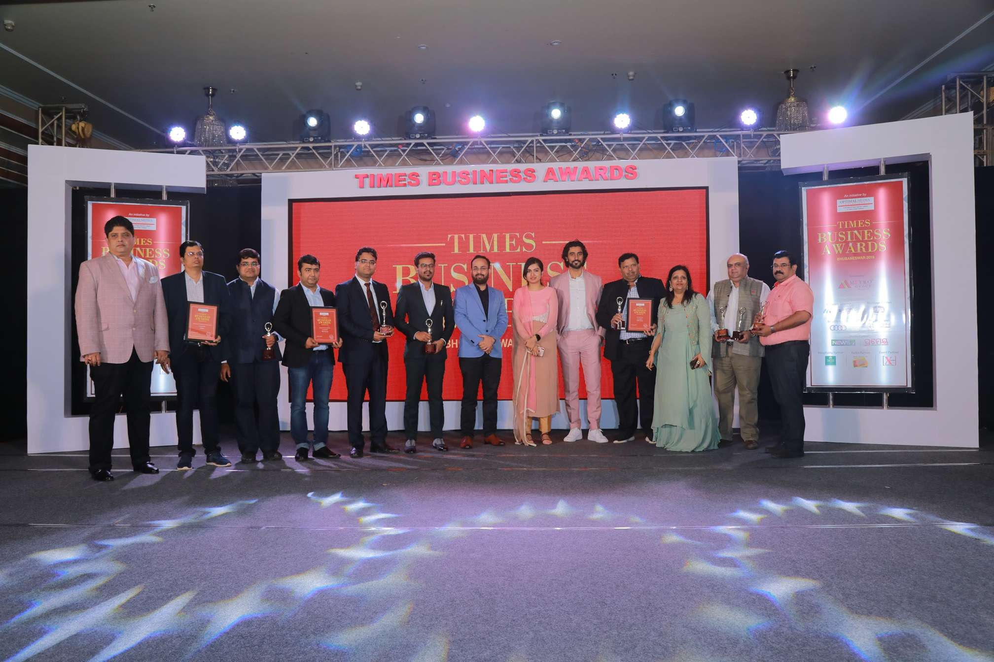 Group of Winners of Times Business Awards 1