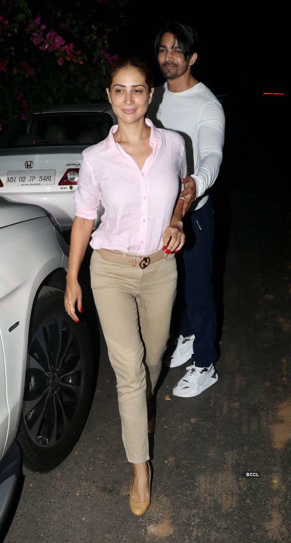 Kim Sharma and Harshvardhan Rane