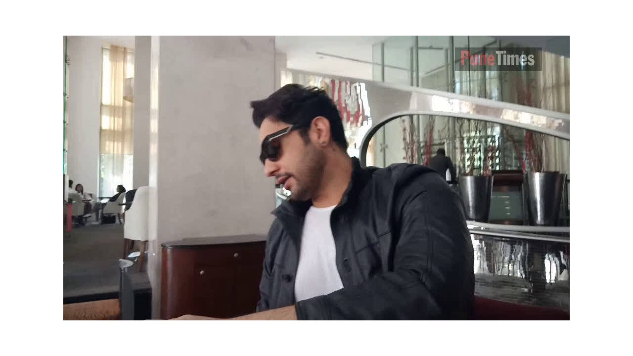 When actor/singer Adhyayan Suman was spotted in Pune!