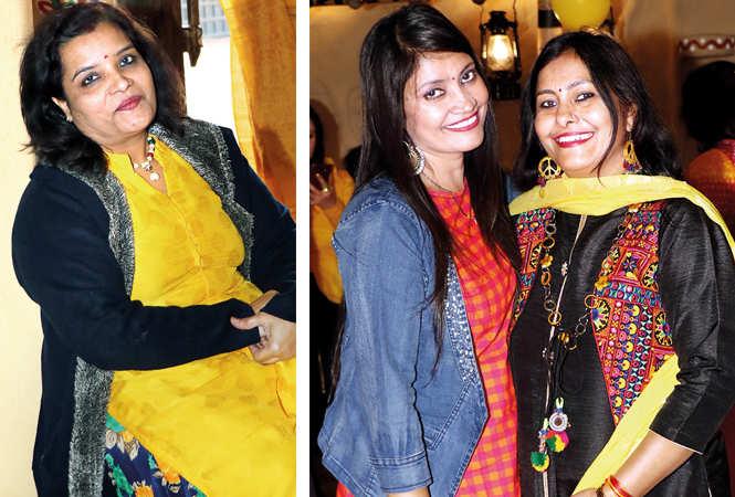 (L) Dr Bhawana Trivedi (R) Madhuri Dubey and Madhvi (BCCL/ Unmesh Pandey)
