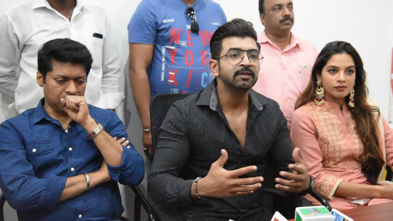 Arun Vijay talks about the success of film Thadam
