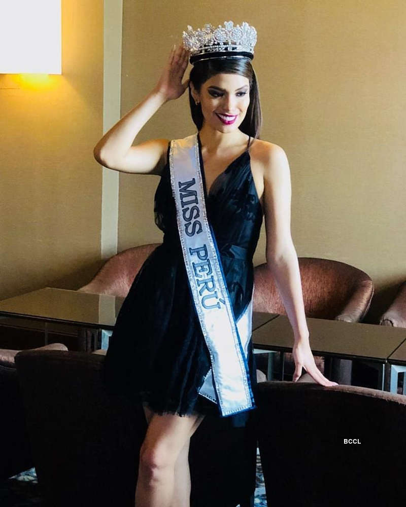 Miss Peru 2019 is stripped of her crown after her drinking video goes viral