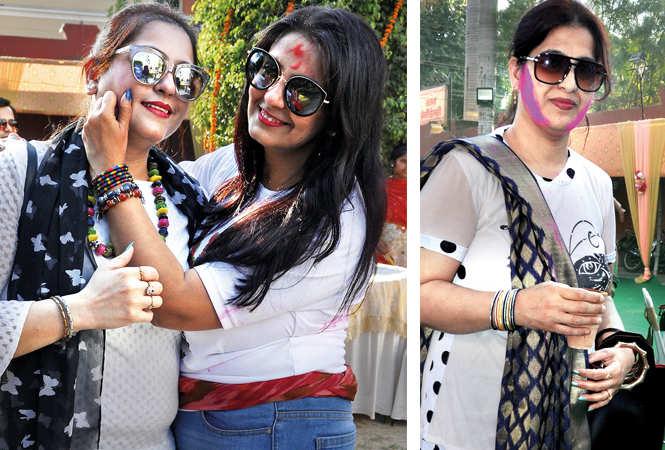 (L) Mona and Bhavya (R) Vineeta (BCCL/ AS Rathor)