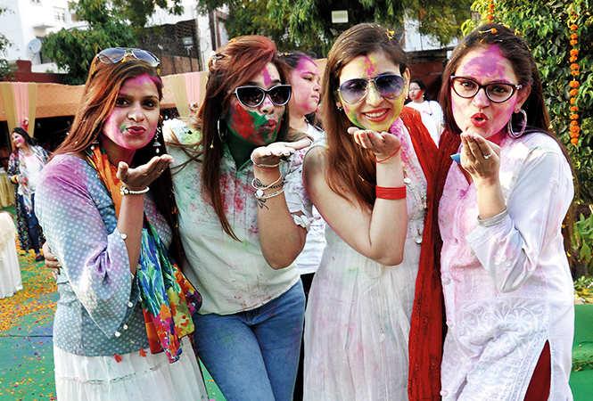(L-R) Rashmi, Naina, Mridul and Rashmi (BCCL/ AS Rathor)
