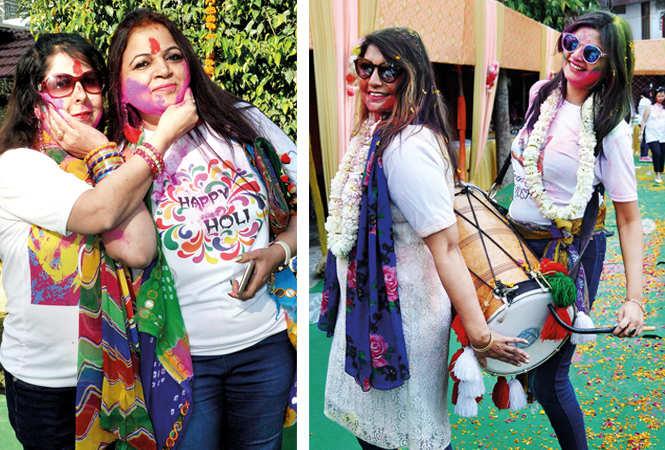(L) Rakhi and Varsha (R) Rashmi and Anita (BCCL/ AS Rathor)