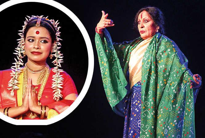 (L) Nandani (R) Sonal Mansingh (BCCL/ Arvind Kumar)