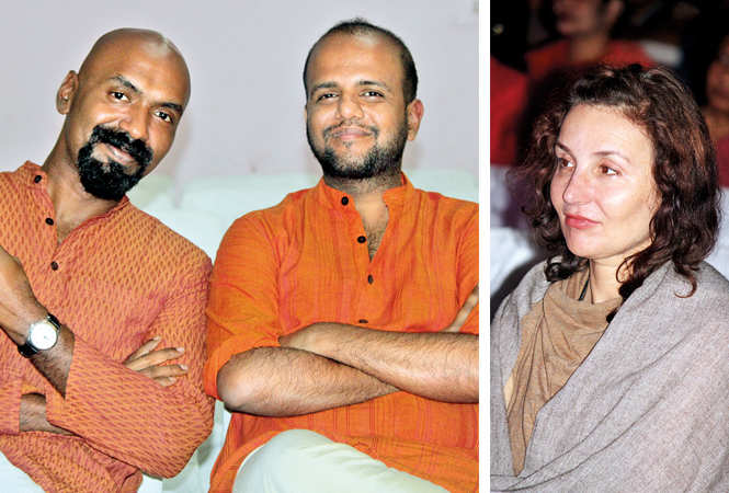 (L) Deepak and Tushar (R) Evgeni (BCCL/ Arvind Kumar)