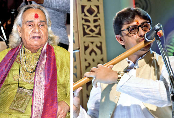 (L) Pt Channu Lal Mishra (R) Vidhi Nagar (BCCL/ Arvind Kumar)