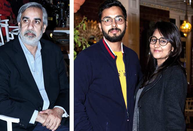 (L) Ashok (R) Kratik Pandey and Varsha Dixit (BCCL/ Vishnu Jaiswal)