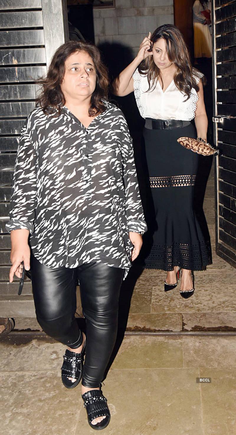 Katrina Kaif, Vicky Kaushal and other celebs attend Zoya Akhtar's party