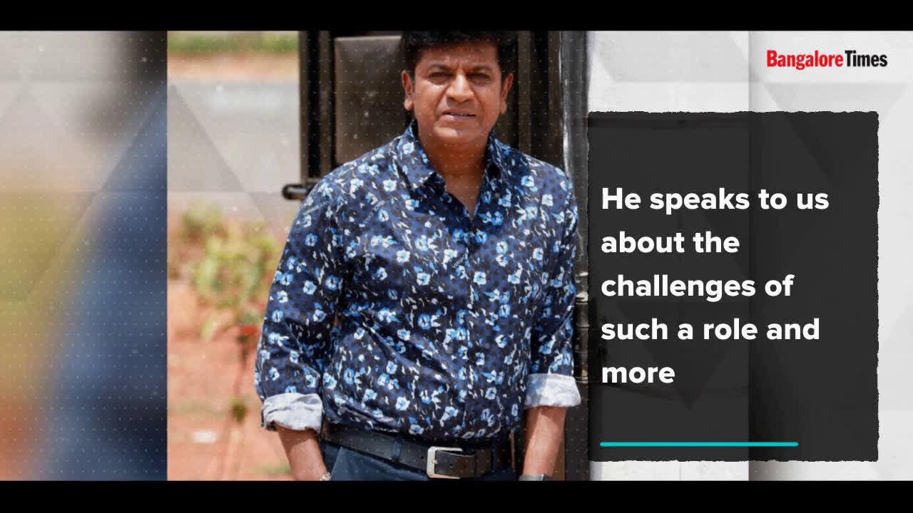 Shivarajkumar on his role in 'Kavacha'