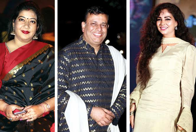 (L) Alka Nivedan (C) Tanuj (R) Nalini (BCCL/ Aditya Yadav)