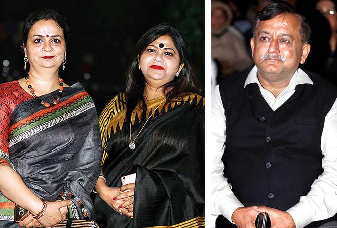 (L) Anju Singh and Anju Singh (R) Awanish Kumar Awasthi (BCCL/ Aditya Yadav)