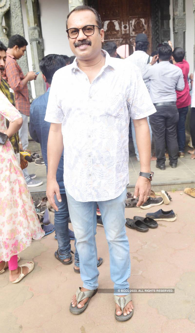 Celebs attend muhurat of the film 'Margamkali'