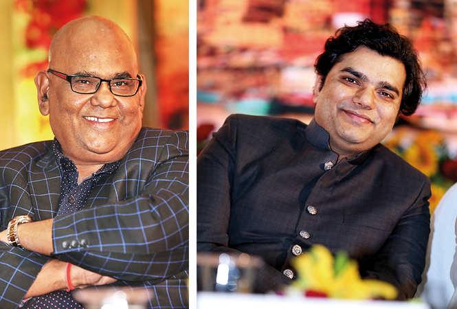 (L) Satish Kaushik (R) Sunil Sirvaiya (BCCL/ Aditya Yadav)