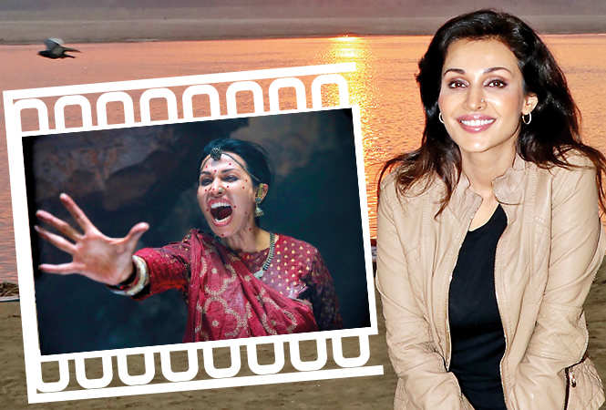Flora Saini as Stree in the film (BCCL)