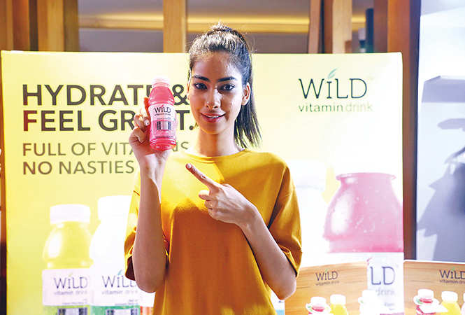 ​Sumita Bhandari, fbb Colors Femina Miss India Uttarakhand 2018, has found a new way to stay hydrated​