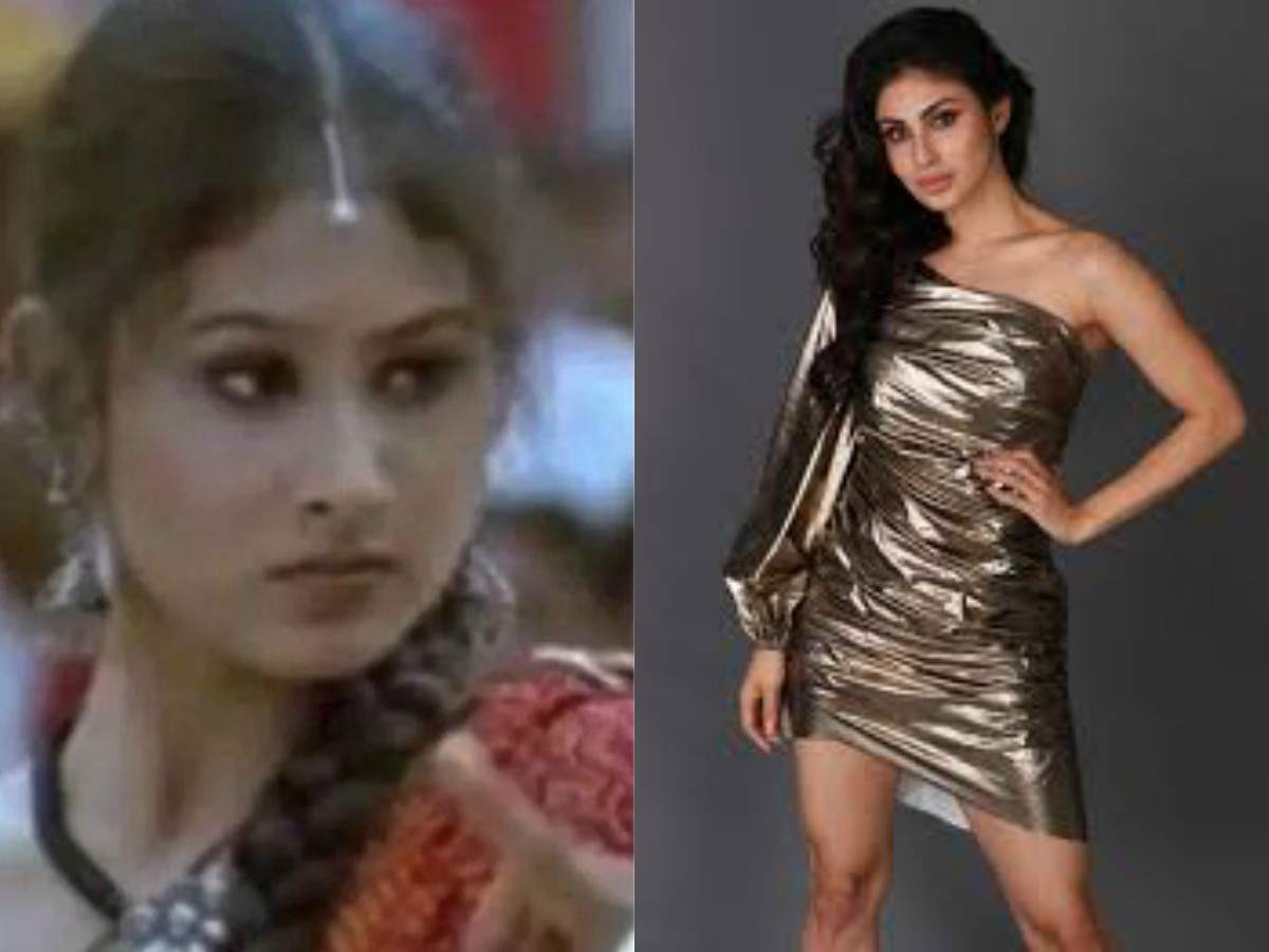 Mouni Roy looks unrecognisable in this throwback pic from