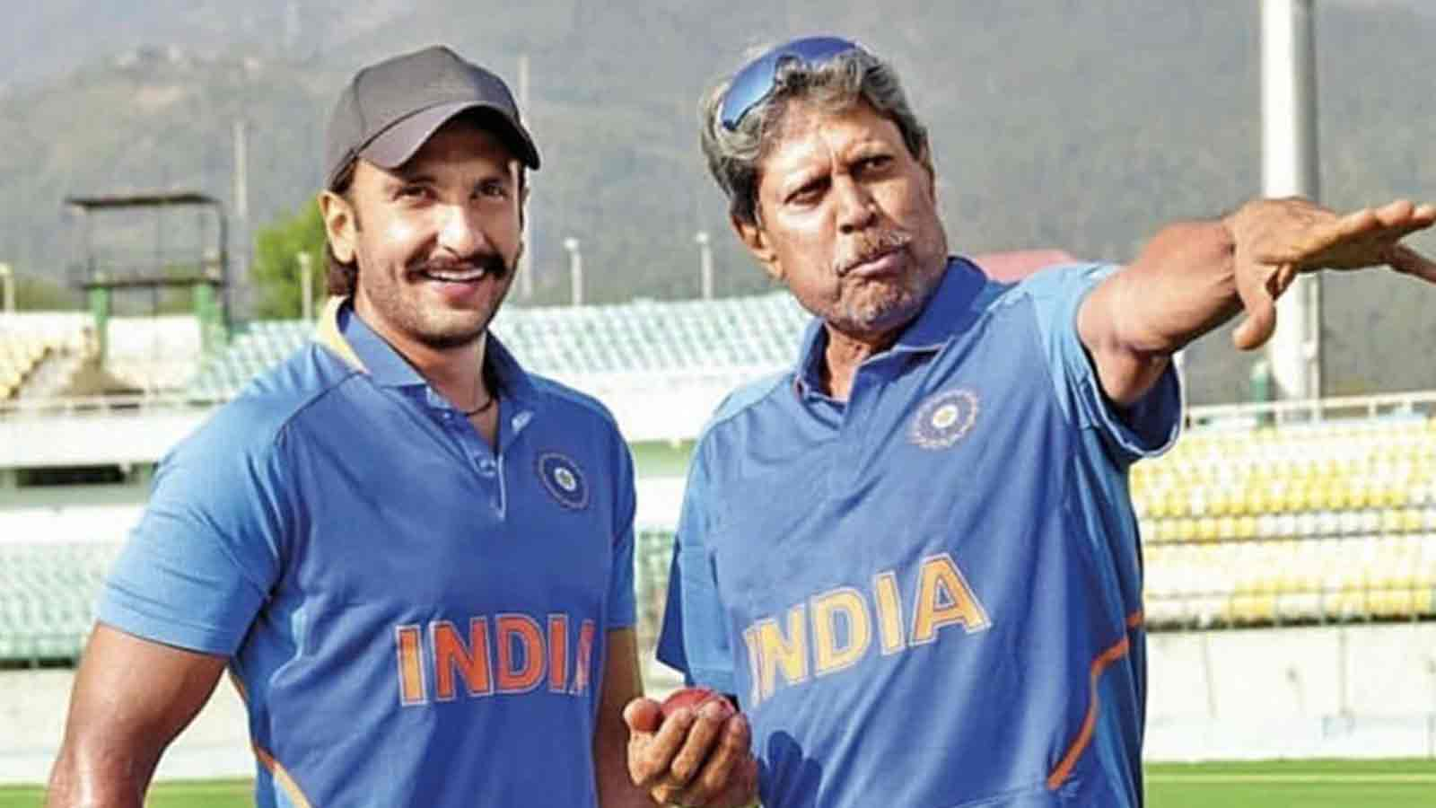 Ranveer Singh trains with Kapil Dev on '83' sets in Dharamshala