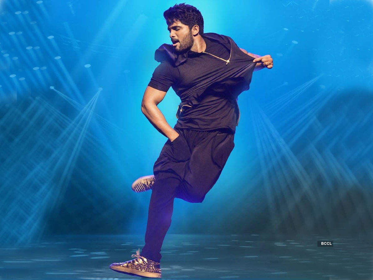 Allu Arjun Icon Movie Poster