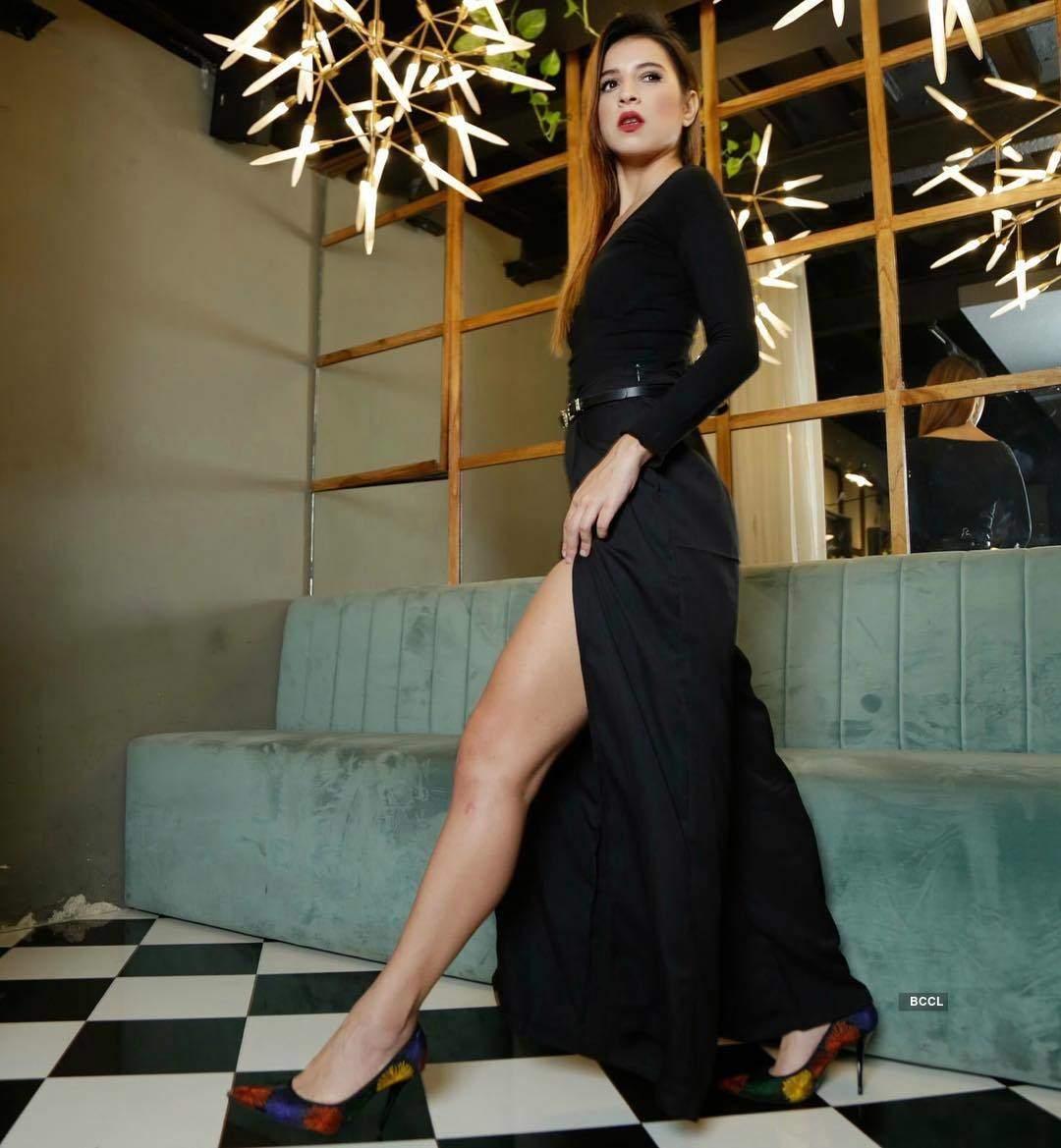 Pictures of the stylish MTV VJ & former Bigg Boss contestant Benafsha Soonawalla