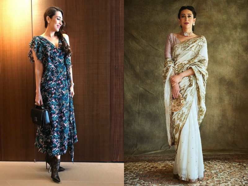 0eb56cee44 Karisma Kapoor gives us real fashion lessons with such ease and ...