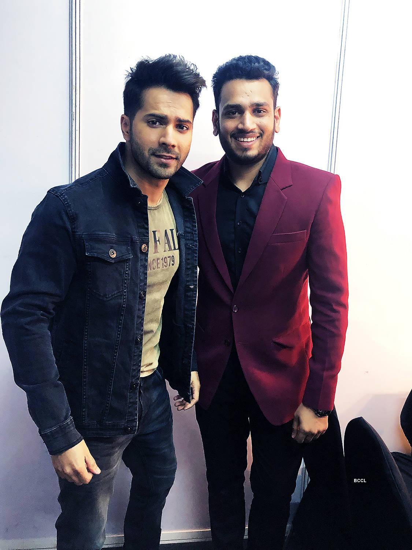 Fashion Choreographer Lokesh Sharma & Bollywood actor Varun Dhawan come together for a fashion event