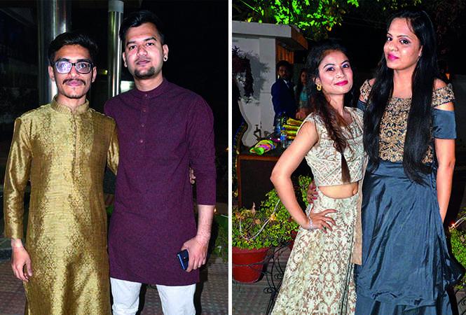 (L) Anugrah and Prabhu (R) Ayushi and Vartika (BCCL/ IB Singh)