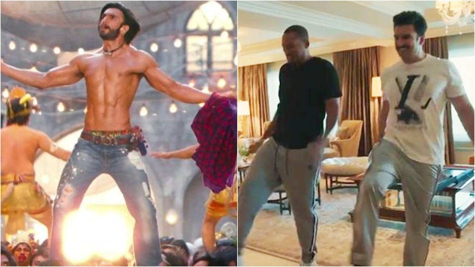 Ranveer Singh teaches Will Smith the iconic pelvic thrust from 'Tattad Tattad'