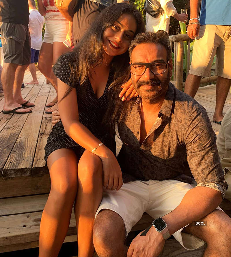 Ajay Devgn wishes his daughter Nysa with a special post on her birthday, see pictures