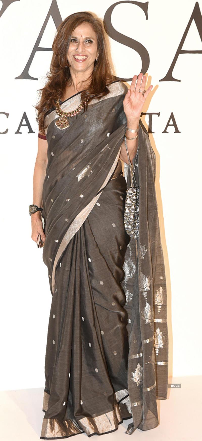 Bollywood divas glam-up the 20 years celebration of Sabyasachi Mukherjee in fashion industry