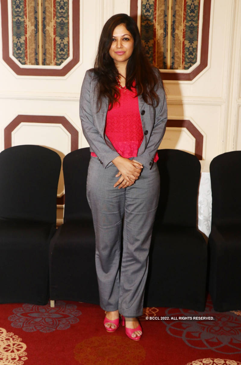 Latha Rajinikanth attends the C Summit Solitaire