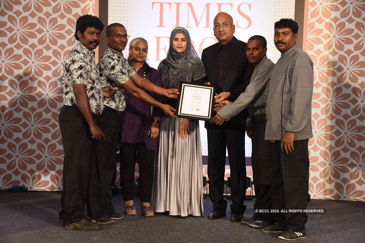 Times Food and Nightlife Awards '19 - Chennai: Winners