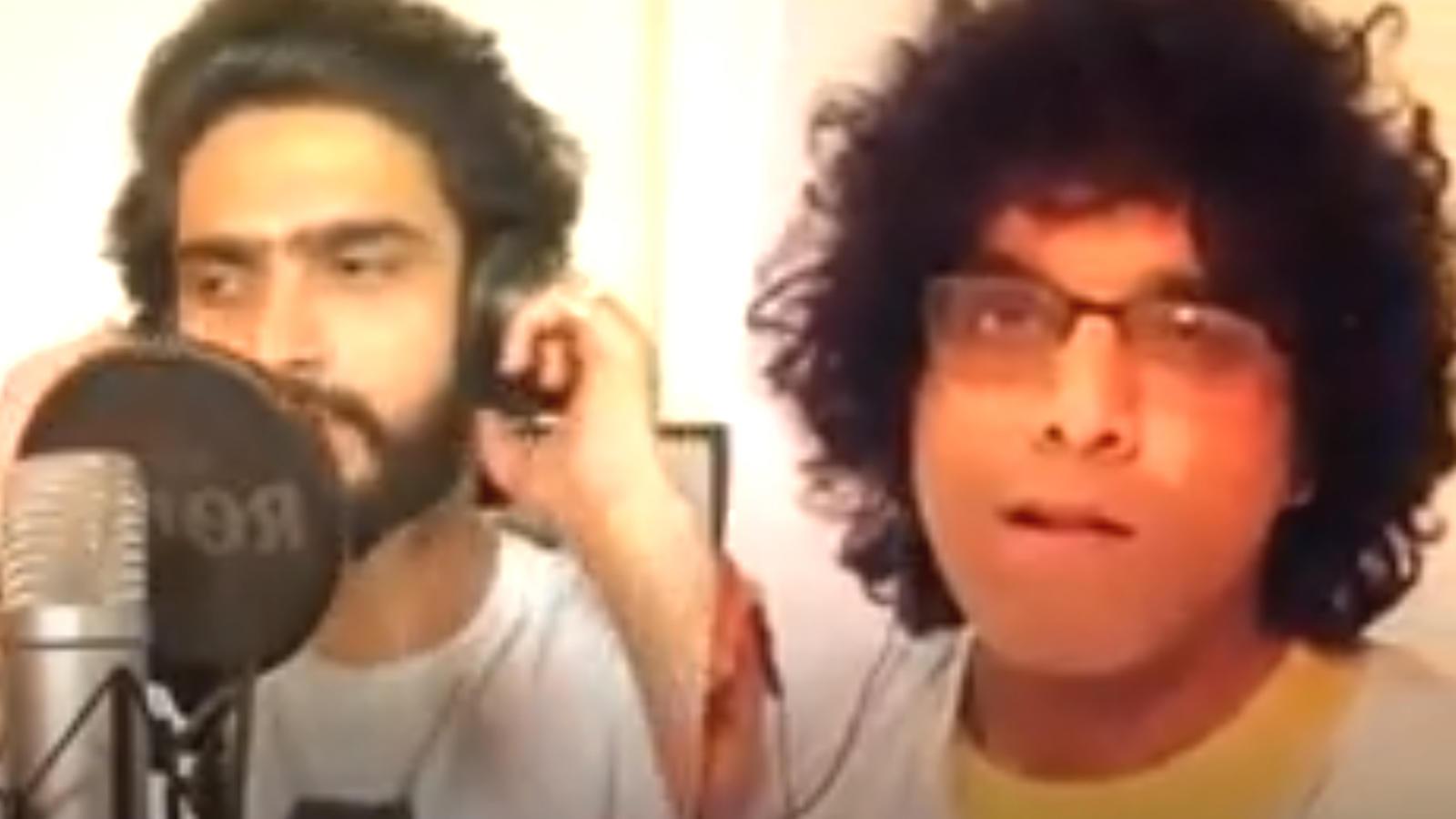 Amaal Mallik enjoys crooning on Smule | Hindi Movie News