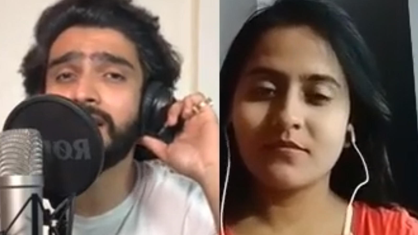 Smule app makes a fan sing his favourite song 'Kyun Rabba' with Amaal Mallik