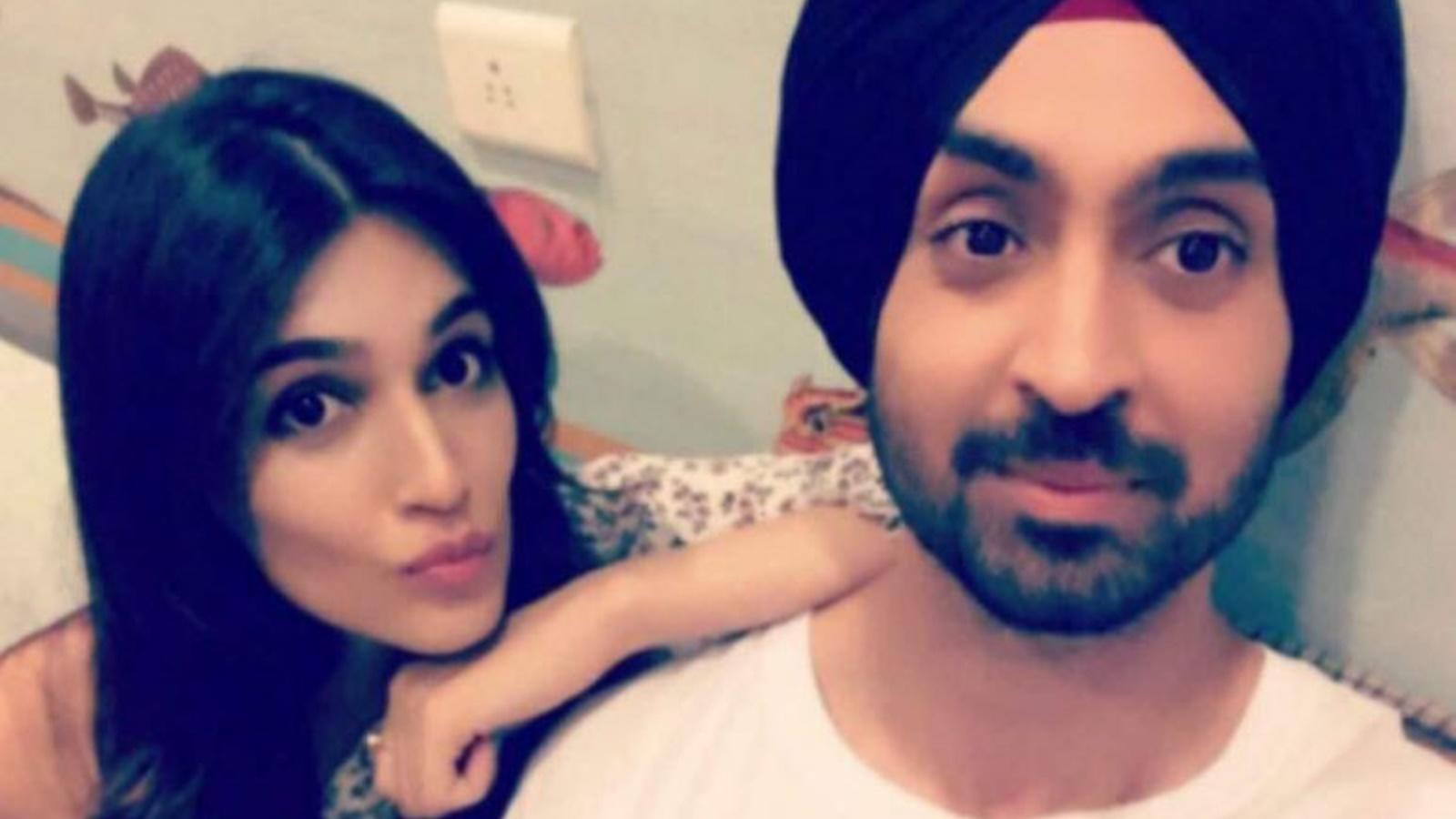 Kriti Sanon and Diljit Dosanjh's fun banter on the sets of 'Arjun Patiala' will leave you in splits!