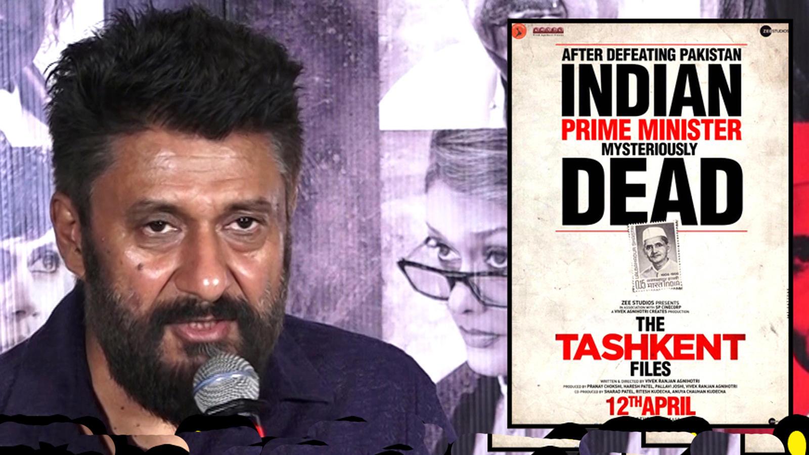 'The Tashkent files' dedicated to journalists of India, says filmmaker Vivek Agnihotri