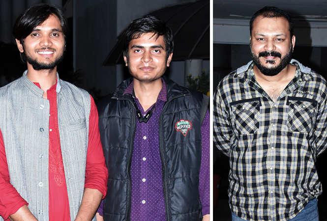 (L) Parvindar Singh and Manish (R) Subhadip  Raha (BCCL/ Vishnu Jaiswal)