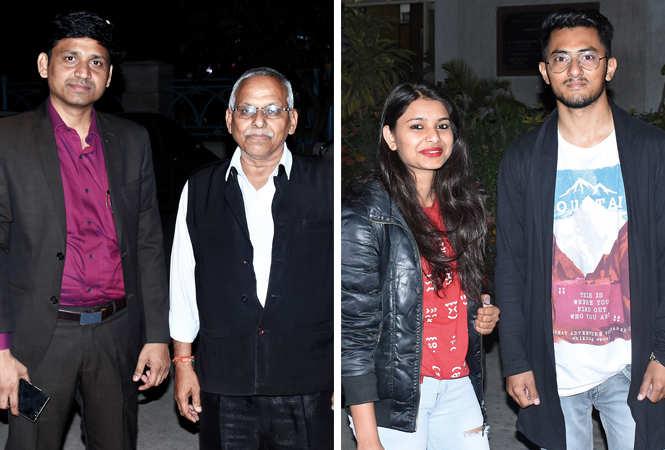 (L) Sameer Shaikh and Vinod Mishra (R) Amrita Pal and Basant Kumur (BCCL/ Vishnu Jaiswal)