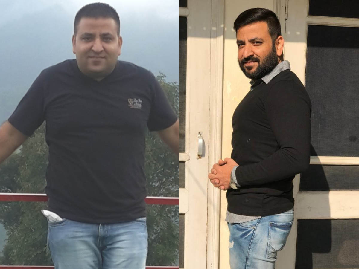 From a massive 100 kilos to healthy 72 kilos, this guy's weight loss is utterly unbelievable!
