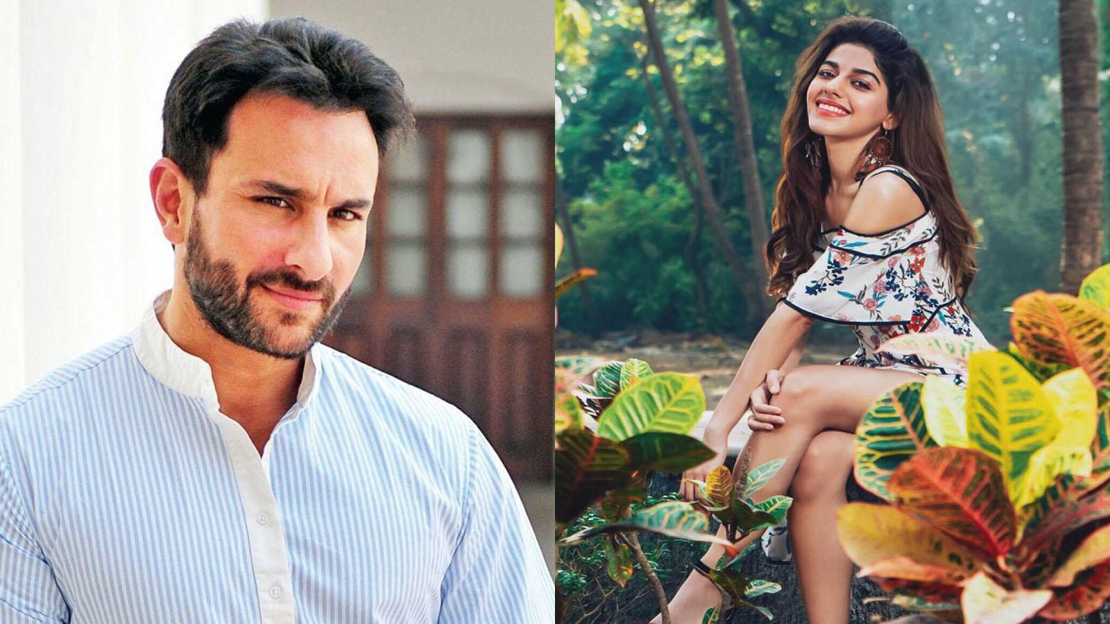 Saif Ali Khan believes that Alaia F is perfect to play his on-screen daughter