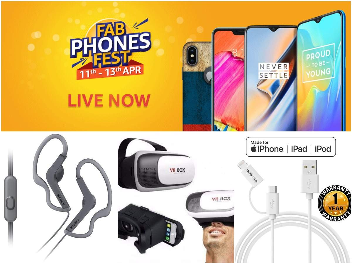 Last day of Amazon Fab Phones Fest sale: Earphones, powerbanks and other gadgets you can buy under Rs 1,999