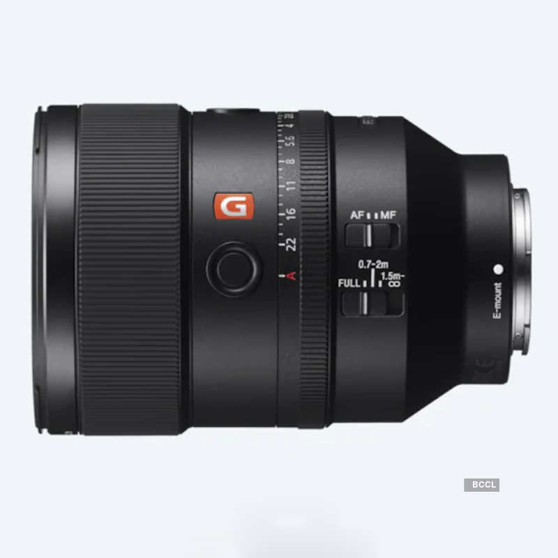 Sony launches F1.8 G Master Prime lens