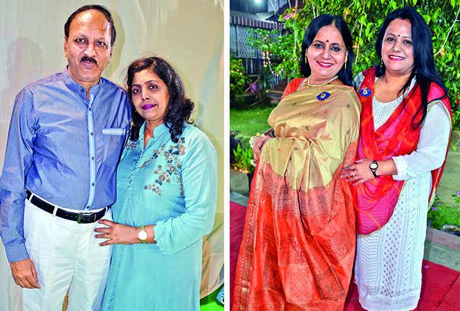 (L) Alok and Kanchan (R) Bhawana and Seema (BCCL/ IB Singh)