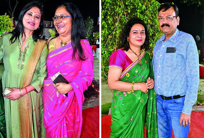 (L) Neelu and Abha (R) Sangeeta and Sanjay (BCCL/ IB Singh)