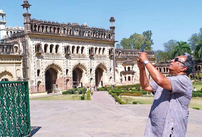 Nassar at Bada Imambada, Lucknow  (BCCL/ Aditya Yadav)