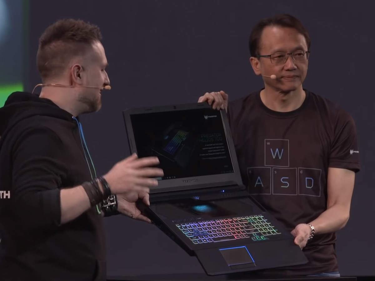 Acer launched new laptops for gamers, regular customers and professionals