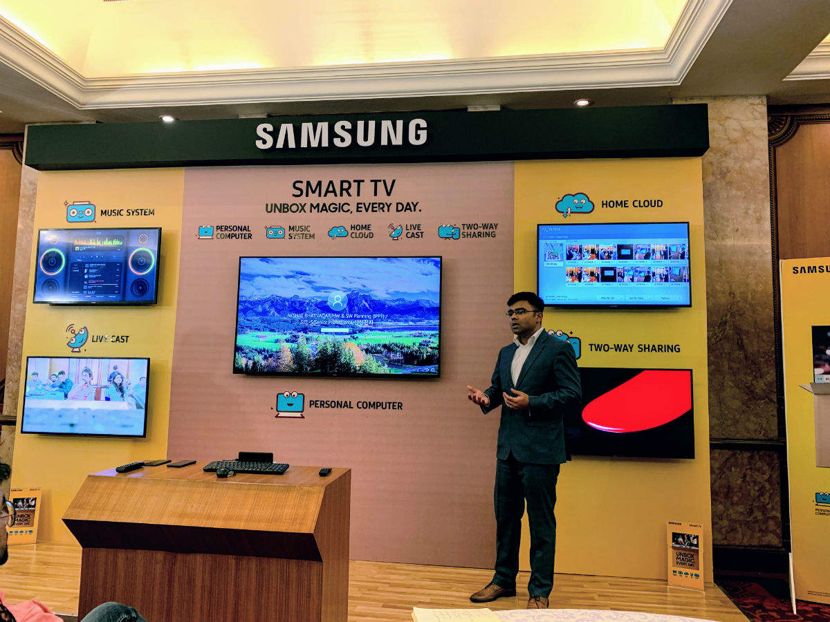 Samsung launches new smart TVs in India