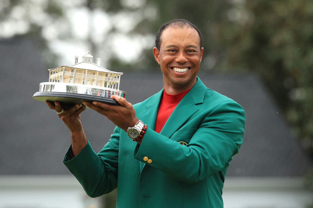 Tiger Woods wins 2019 Masters tournament
